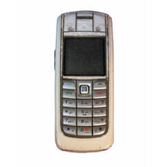 Mobiltelefon, Nokia 6020, fehér (Bontott)