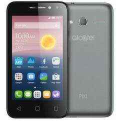 Mobiltelefon, Alcatel OT-5010 Pixi4 5'', ezüst