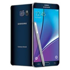 Mobiltelefon, Samsung N920 Galaxy Note 5 32GB Kártyafüggetlen, 6 hónap garancia, fekete