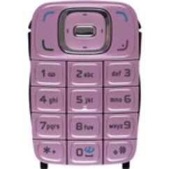 Nokia 6131, Gombsor (billentyűzet), rózsaszín
