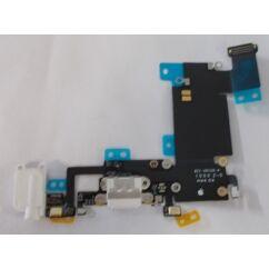 Apple iPhone 6S Plus, Töltőcsatlakozó, (headset csatlakozó), fehér