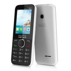 Mobiltelefon, Alcatel OT-1054X, fehér