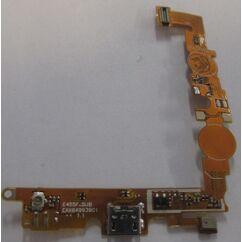LG L5 2 Dual E455, Rendszercsatlakozó, (mikrofon)