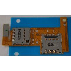 LG K4 K120, SIM olvasó, (memóriakártya olvasó)