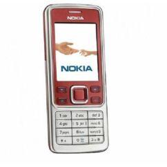 Mobiltelefon, Nokia 6300 (Bontott, felújított), piros