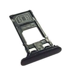 Sony Xperia XZs G8231, SIM tartó, (memóriakártya tartó), fekete