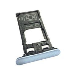 Sony Xperia XZs Dual G8232, SIM tartó, (memóriakártya tartó), kék