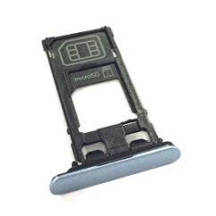 Sony Xperia XZs G8231, SIM tartó, (memóriakártya tartó), kék