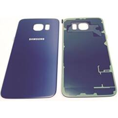 Samsung G920 Galaxy S6, Akkufedél, sötétkék