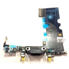 Apple iPhone 8/SE 2020, Töltőcsatlakozó (mikrofonnal), fekete