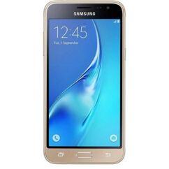 Samsung J320 Galaxy J3 2016, LCD kijelző érintőplexivel, arany