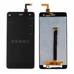 LCD kijelző, Xiaomi Mi4 érintőplexivel, fekete