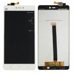 LCD kijelző, Xiaomi Mi4s érintőplexivel, fehér