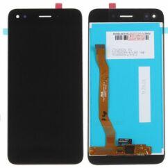 Huawei P9 Lite Mini/Enjoy 7/Y6 Pro 2017, LCD kijelző érintőplexivel, fekete
