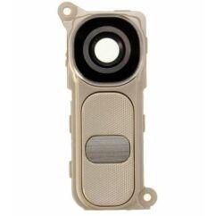 LG G4 H815, Kameraplexi, (+takaró, hangerőállító gomb), arany