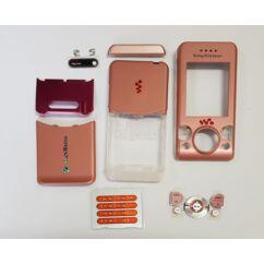 Sony Ericsson S500 komplett ház, Előlap, rózsaszín
