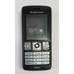 Sony Ericsson K610 komplett ház, Előlap, fekete