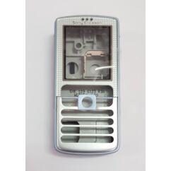 Sony Ericsson komplett ház D750, Előlap, ezüst