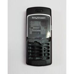 Sony Ericsson T290 komplett ház, Előlap, fekete