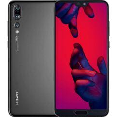 Mobiltelefon, Huawei P20 Pro 128GB DualSim kártyafüggetlen, 1 év garancia, fekete