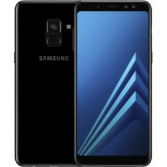 Mobiltelefon, Samsung A530F Galaxy A8 2018 32GB LTE DualSim, Kártyafüggetlen, 1+1 év garancia, fekete