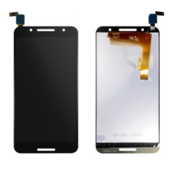 Alcatel OT-5090 A7, LCD kijelző érintőplexivel, fekete