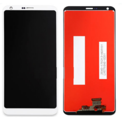 LCD kijelző, LG H870 G6 érintőplexivel, fehér