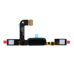 Gomb, Nokia 5 (HOME gomb átvezetőn +ujjlenyomat érzékelő (TA-1053, TA-1021, TA-1024 ), fekete