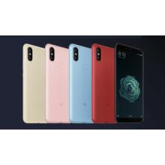 Mobiltelefon, Xiaomi A2 (MI 6X) Dual Sim 32GB Kártyafüggetlen, 6 hónap garancia, arany