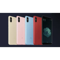 Mobiltelefon, Xiaomi MI A2 (MI 6X) Dual Sim 64GB Kártyafüggetlen, 6 hónap garancia, fekete