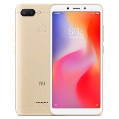 Mobiltelefon, Xiaomi Redmi 6 64GB Dual Sim kártyafüggetlen, 6 hónap garancia, arany