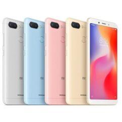 Mobiltelefon, Xiaomi Redmi 6A 32GB Dual Sim kártyafüggetlen, 6 hónap garancia, kék