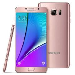 Mobiltelefon, Samsung N920 Galaxy Note 5 32GB kártyafüggetlen, 6 hónap garancia, rózsaszín