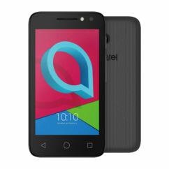 Mobiltelefon, Alcatel 4049X U3 4GB kártyafüggetlen, 1 év garancia, fekete