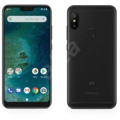 Xiaomi MI A2 64GB DualSIM, (Kártyafüggetlen 1 év garancia), Mobiltelefon, fekete