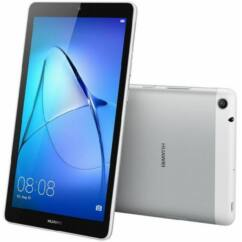 Mobiltelefon, Huawei Mediapad T3 7.0 Wifi LTE 16GB Tablet PC, 1 év garancia, szürke