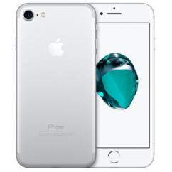 Mobiltelefon, Apple iPhone 7 256GB használt, kártyafüggetlen, 1 hónap garancia, ezüst