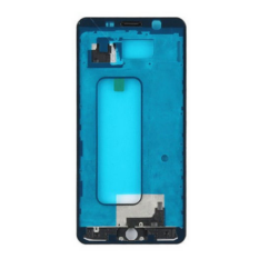 Samsung A510 Galaxy A5 2016, LCD keret, fekete