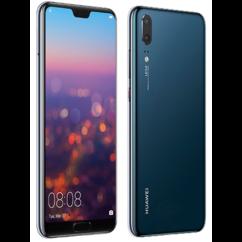 Mobiltelefon, Huawei P20 4G LTE 64GB DualSIM kártyafüggetlen, 1+1 év garancia, kék