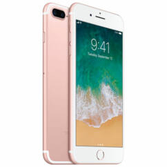 Mobiltelefon, Apple iPhone 7 Plus 128GB Preowned, kártyafüggetlen, 1 év garancia, rose gold