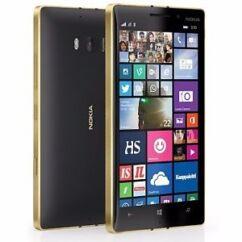 Mobiltelefon, Nokia Lumia 930 LTE Kártyafüggetlen, 6 hónap garancia, fekete-arany