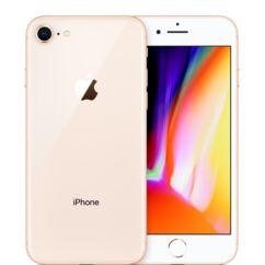 Mobiltelefon, Apple iPhone 8 256GB kártyafüggetlen, 1 év garancia, arany