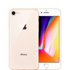 Mobiltelefon, Apple iPhone 8 128GB kártyafüggetlen, 1 év garancia, arany