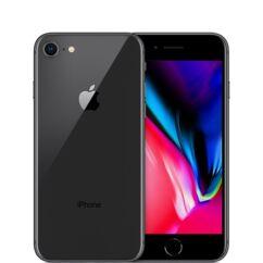 Mobiltelefon, Apple iPhone 8 64GB kártyafüggetlen, 1 év garancia, szürke