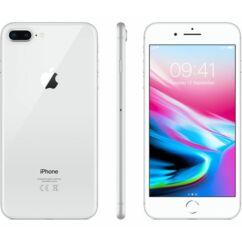 Mobiltelefon, Apple iPhone 8 Plus 256GB kártyafüggetlen, 1 év garancia, ezüst