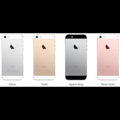 Mobiltelefon, Apple iPhone SE 16GB, Kártyafüggetlen, 1 év garancia, rose gold
