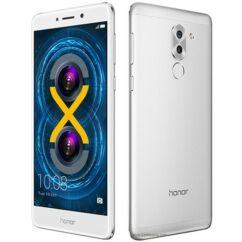 Mobiltelefon, Huawei Honor 6X LTE DualSim, kártyafüggetlen, 1+1 év garancia, ezüst