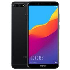 Mobiltelefon, Huawei Honor 7A 16GB dual sim kártyafüggetlen, 1+1 év garancia, fekete