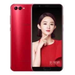 Mobiltelefon, Huawei Honor View 10 128GB LTE dual sim kártyafüggetlen, 1+1 év garancia, piros