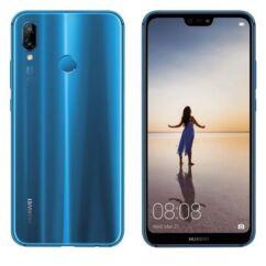 Mobiltelefon, Huawei P20 Lite 64GB DualSim kártyafüggetlen, 1 év garancia, kék
